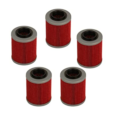 HIFROM Oil Filter Replacement for HF152 Can-am Commander Bombardier Outlander Max 330 400 650 800 500 1000 DS650 DS650X Baja Aprilia Rsv Mille 1005 R 1000 Factory 1000: Home & Kitchen