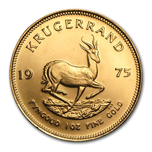 1975 ZA South Africa 1 oz Gold Krugerrand 1 OZ About Uncirculated ()
