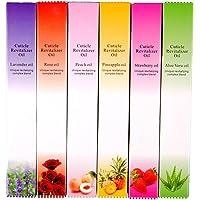 COSCELIA 6 Pcs Cuticle Revitalizer Oil Pen Nail Care Treatment Manicure