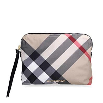 e706cba326b Image Unavailable. Image not available for. Color  Burberry Large Zip-top  Technical Pouch - Camel
