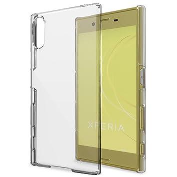 c1f0ea0884 natura(ナチュラ) Xperia XZs / XZ ハード ケース カバー クリア 透明 9H強化ガラス