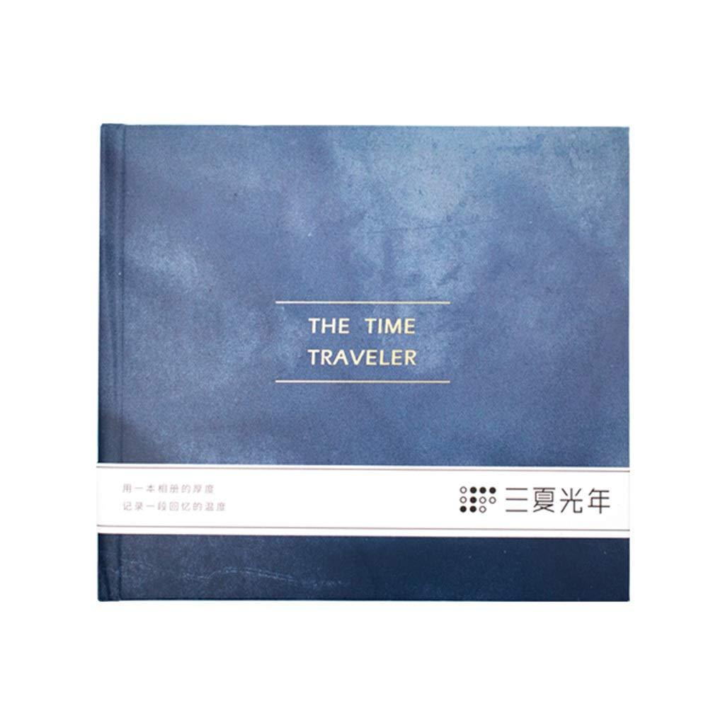 Photo Organizer Album Book Polaroid Album Interstitial Creative Album Family Bulk Album Best Gift (Color : Blue, Size : 29.826.52.5cm) by Photo Albums