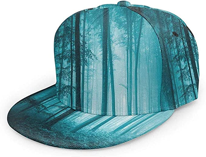 Egoa Gorra Strapback Mystic House Magic Foggy Dark Forest Teal ...