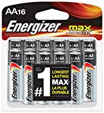 Health & Personal Care : Energizer AA Batteries, Max Alkaline (16 Count)