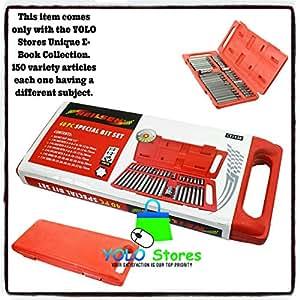 """40PC Torx Hex Star Spline Allen Key Socket Bit Set 1/2"""" 3/8"""" Power Tool By YOLO Stores"""