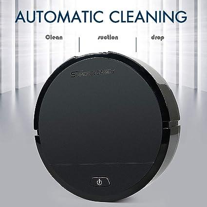 Jackeylove Robot Aspirador Grande succión Inteligente silenciosa máquina de Limpieza de la batería del hogar Fregar