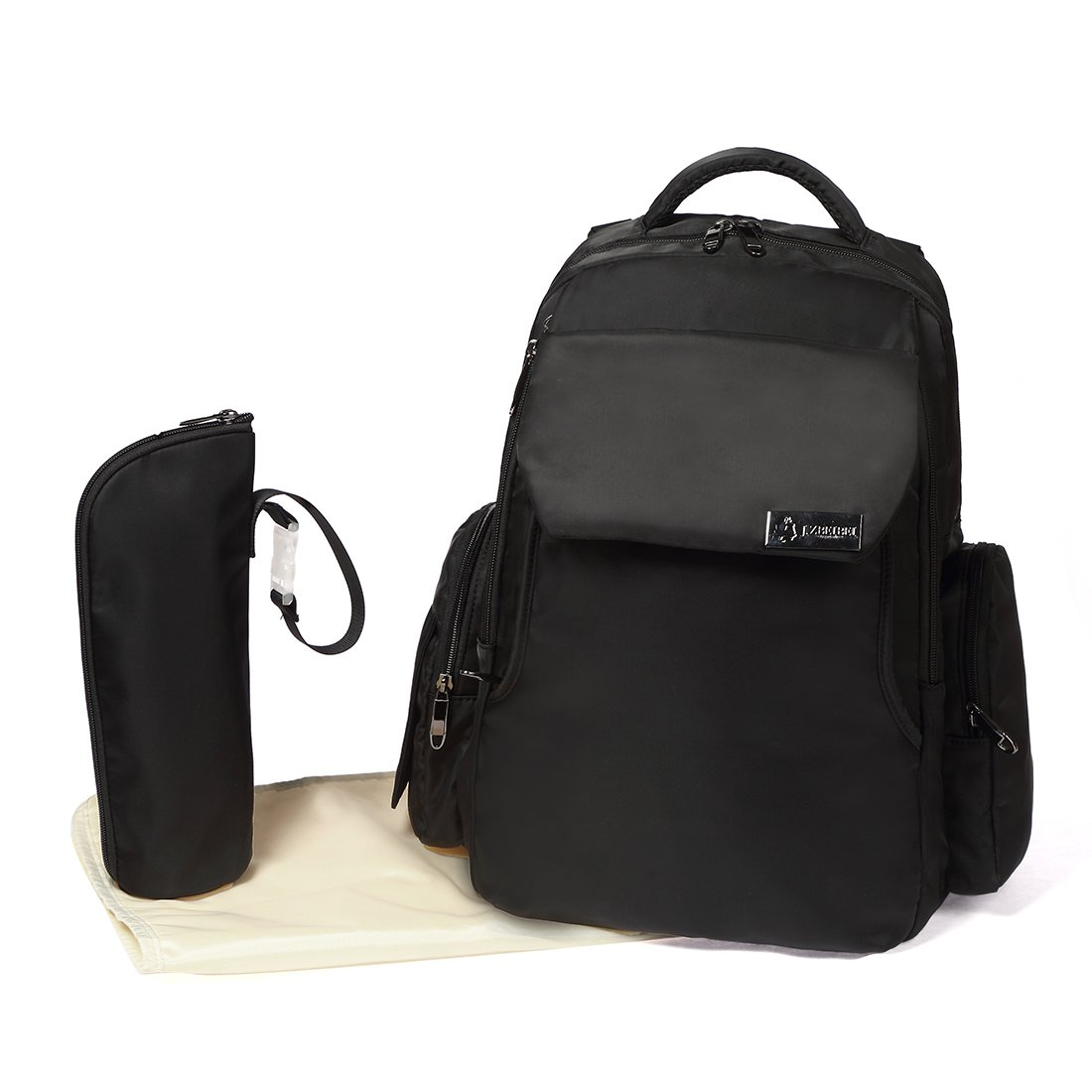 Diaper Bag Backpack for Baby Care Multi-Functional Waterproof Baby Nappy Changing Bag…