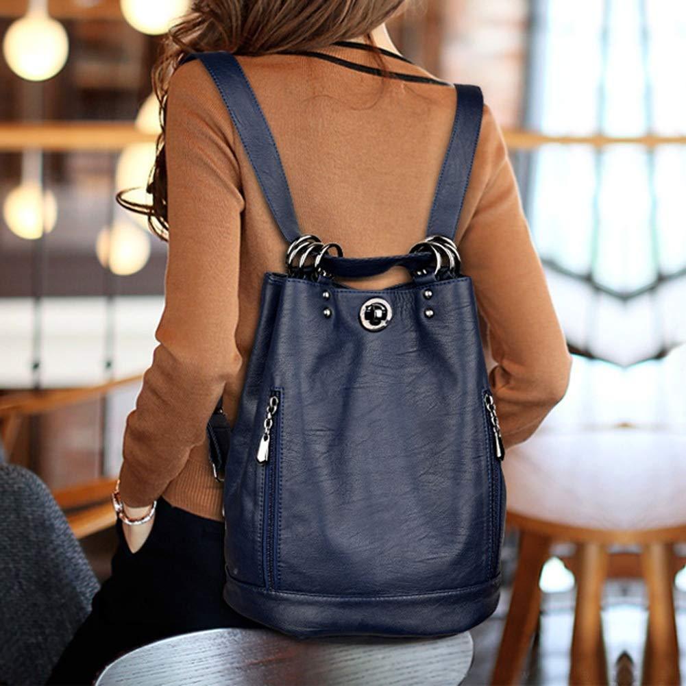 Large-Capacity Backpack Travel Bag ZHML Backpack Leisure Bag Fashion Versatile Backpack