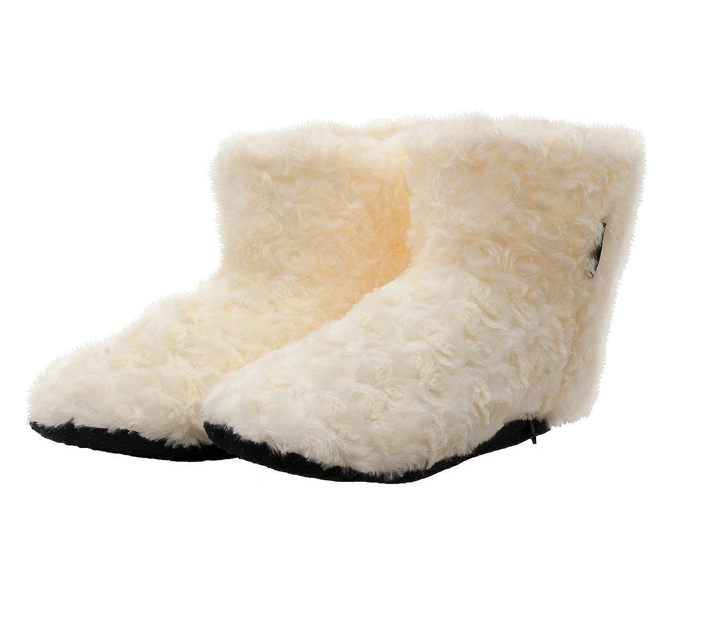 Warmawear Dual Fuel Battery Heated Indoor Slipper Boots