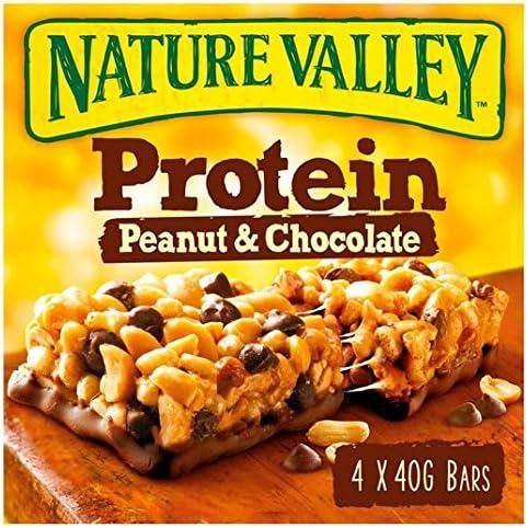 Nature Valley barras de proteína de cacahuete y chocolate 4 x ...