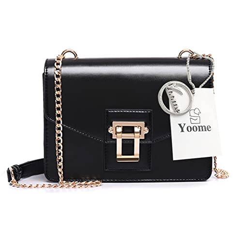 3a84c0ccbf36 Yoome Alley Style Elegant Flap Bag For Dating Chain Vintage Bags For Women  Girls Bags Purses
