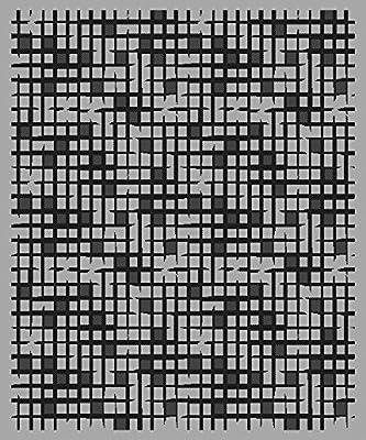 Amazon Com Cafepress Black White Checkered Pattern 3 X5
