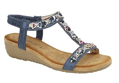 c5694112f688 Women s Cipriata Nina Jewelled Sling Back Sandals  Amazon.co.uk  Shoes    Bags