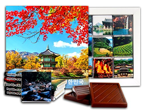 DA CHOCOLATE Candy Souvenir KOREA Chocolate Gift Set 5x5in 1 box - Village Shopping University