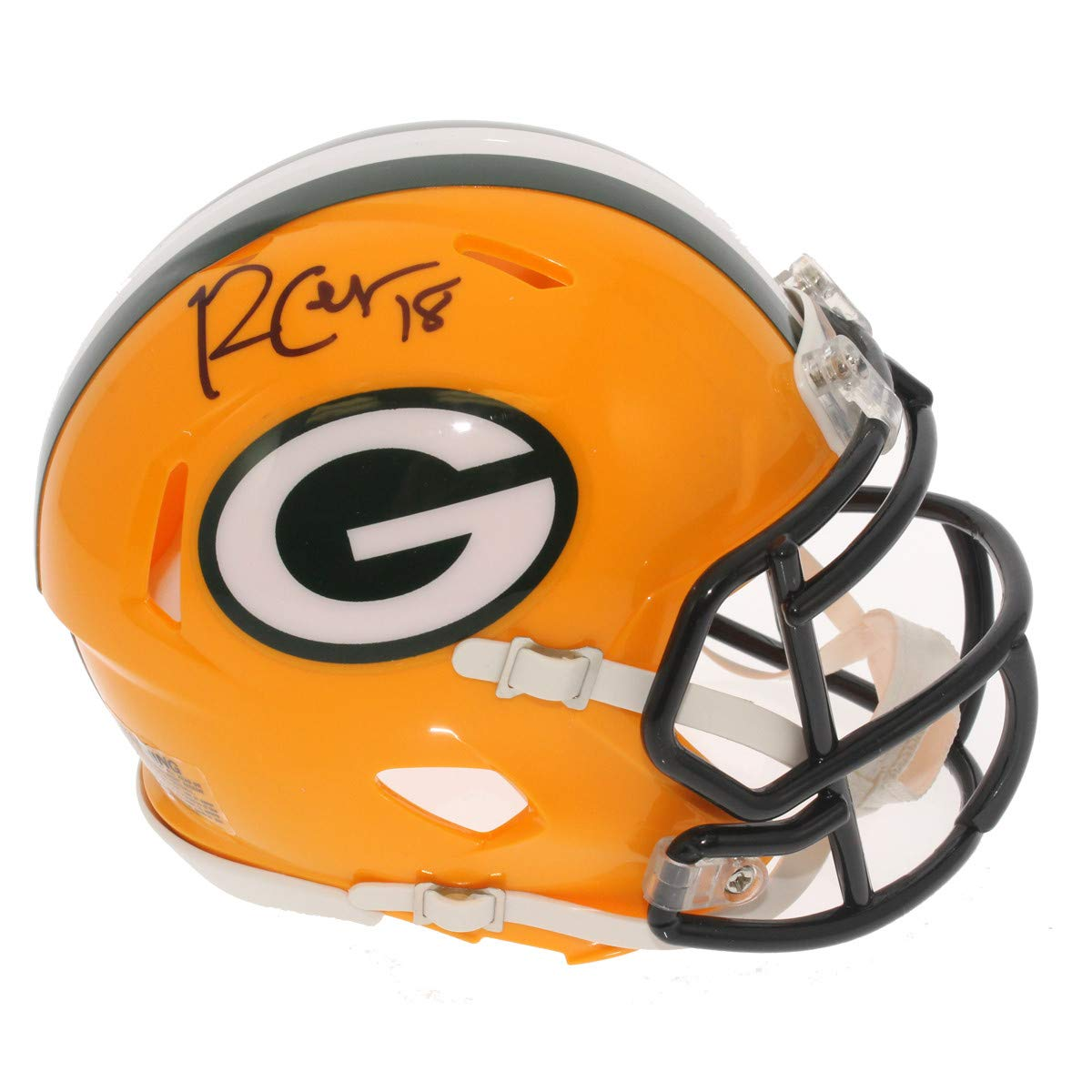 Randall Cobb Autographed Signed Green Bay Packers Speed Mini Helmet - JSA Certified Authentic