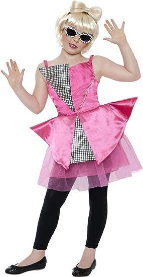 Niña Lady Gaga Danza Diva intrincados Promi Pop Star Disfraz Outfit