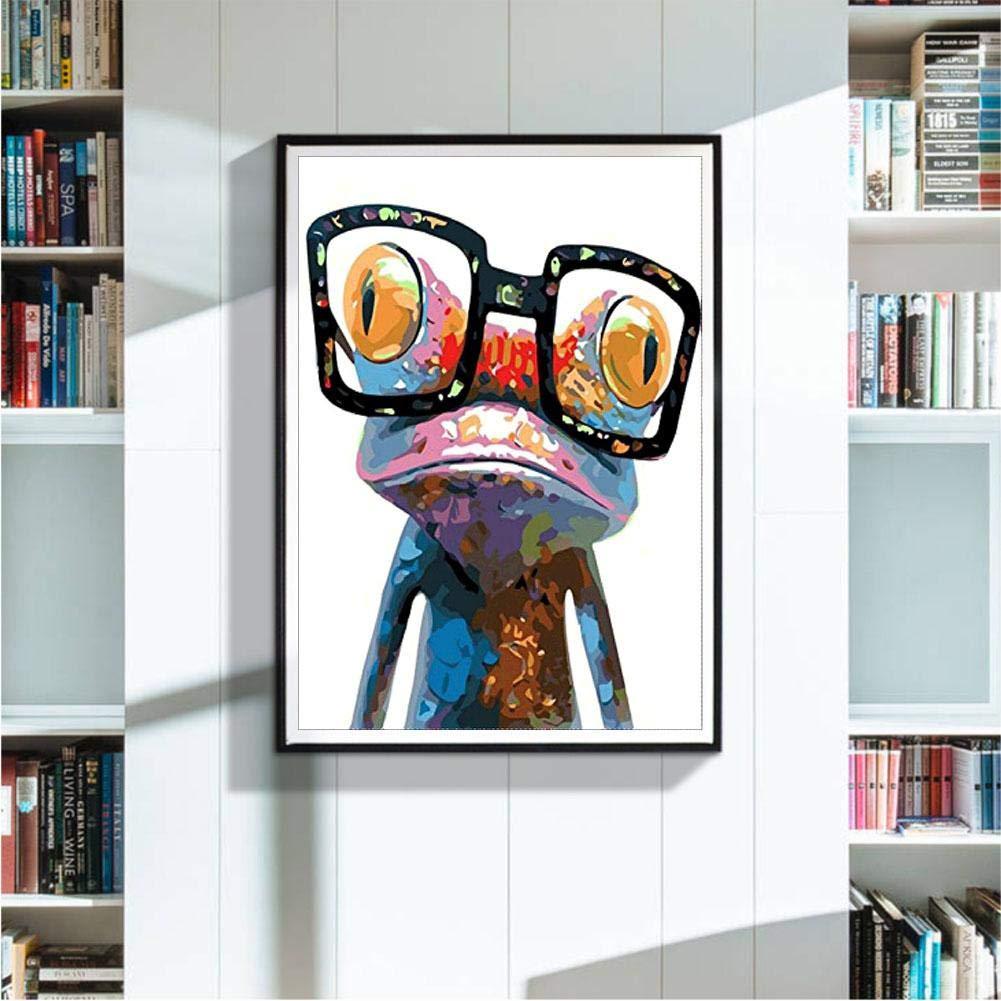 5D DIY Full Drill Diamond Painting Cartoon Frog Cross Stitch Embroidery Kit RLFS
