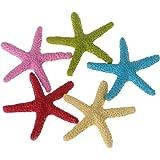 UEETEK 2 piezas estrella de mar acuario estrella de mar resina ...