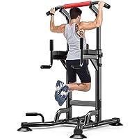YOLEO Chaise Romaine Barre de Traction Musculation Station Traction Dips pour l'entraînement à la Maison