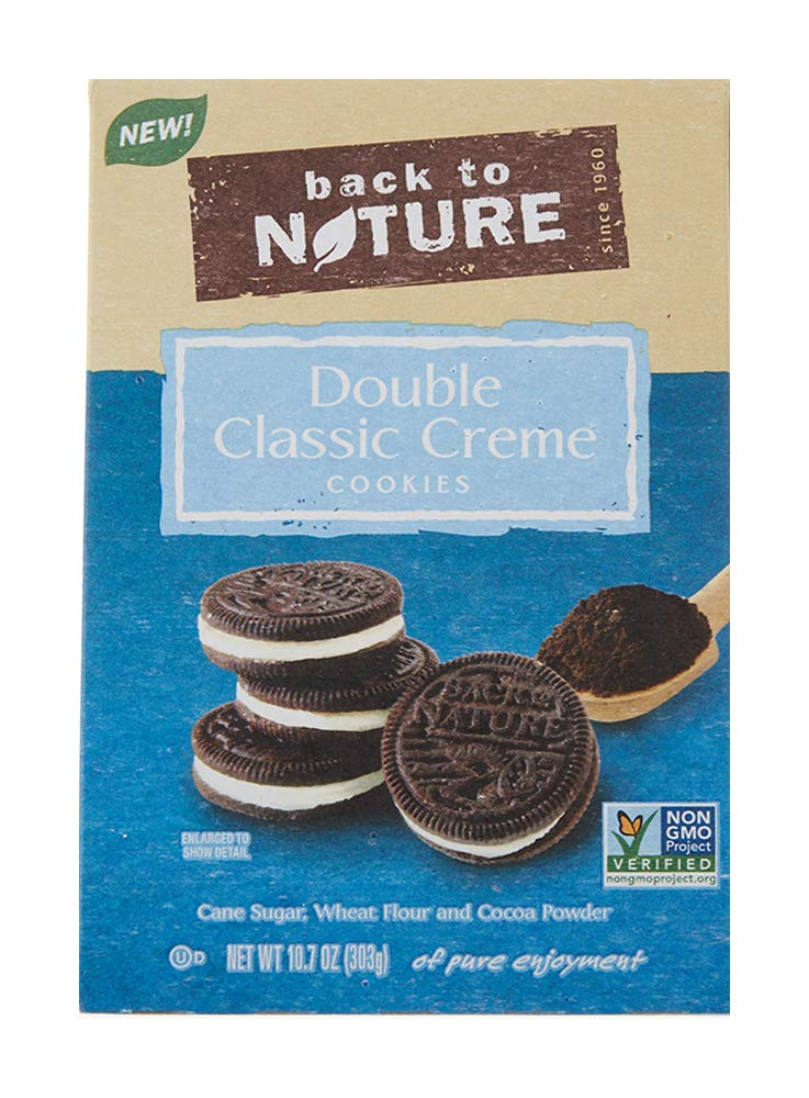 Back to Nature Cookies, Non-GMO Double Classic Crème, 10.7 Ounce (Packaging May Vary)