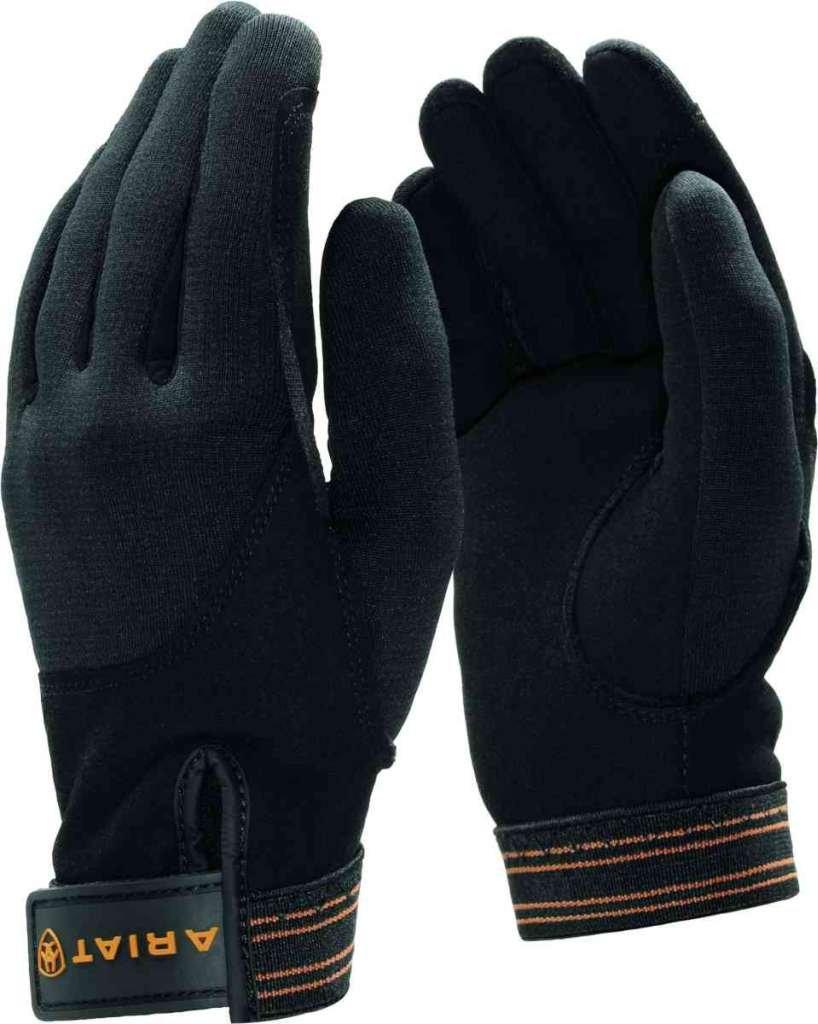Ariat TEK Grip insulated Handschuhe, 6.5, schwarz A10004374