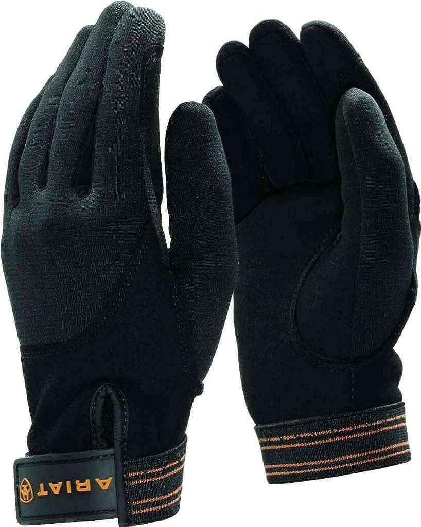 Ariat Mens Insulated Tek Grip Gloves,Black,7