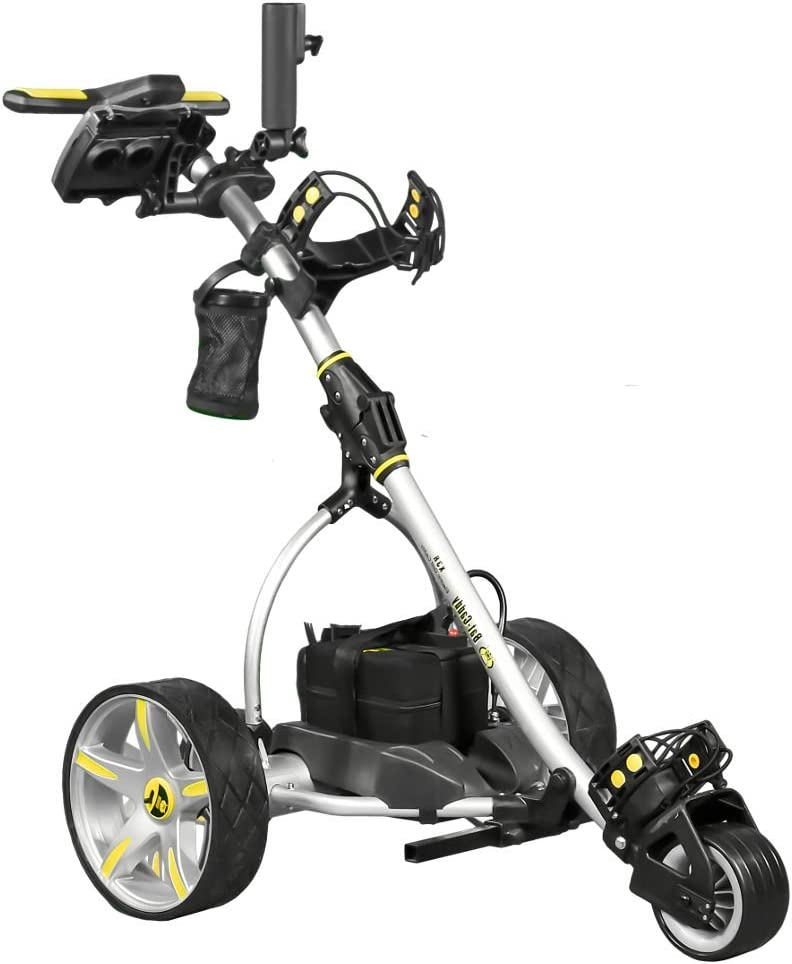 Best Electric Golf Push Carts That Follow You 1