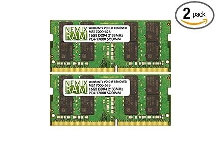 32GB Kit 2x 16GB DDR4 2133MHz PC4-17000 260 pin Sodimm Laptop Memory RAM