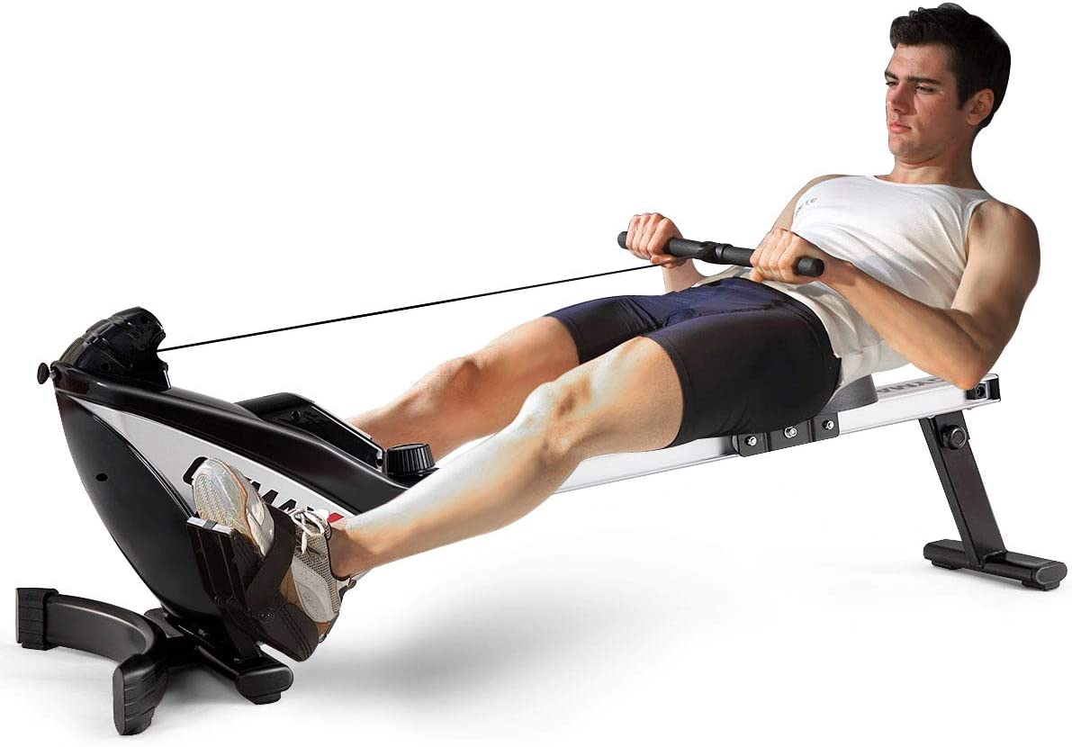 GYMAX Magnetic Rower4