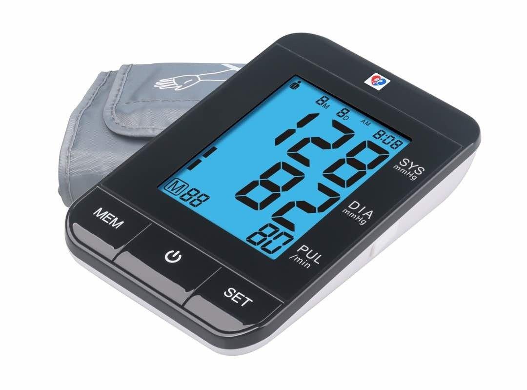 Digital Display Blood Pressure Monitor Most Accurate Sensor Best BP Meter Model