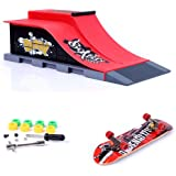Mini Skate Park Ramp Parts for Tech Deck Fingerboard Finger Skateboard Ultimate Parks Ramp #E