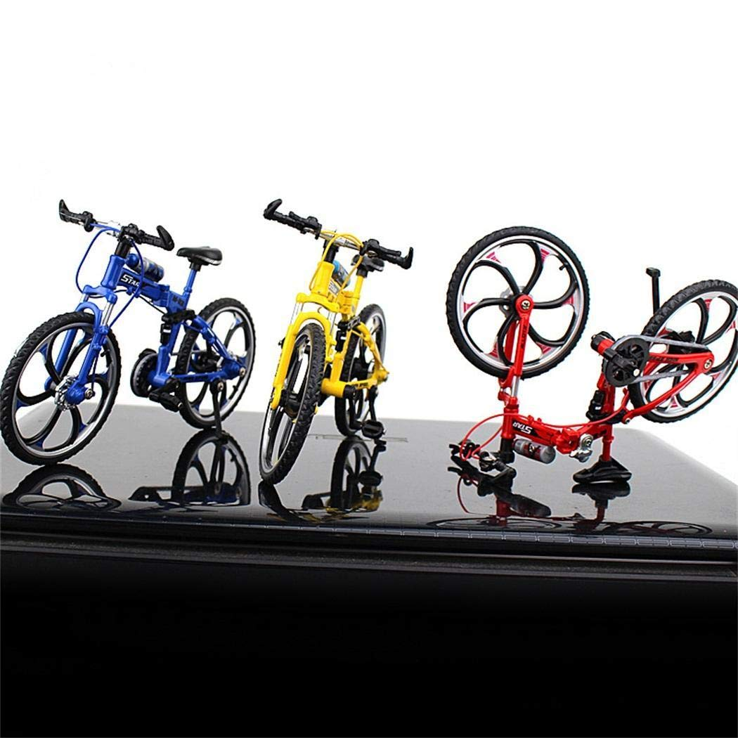 Gugio Mini Bike Finger Bike Excellent Miniature Metal Toys Mini Extreme Sports Finger Bicycle Cool Boy Toy