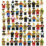 Liberty toys 60pcs Family and Community Minifigures Men People