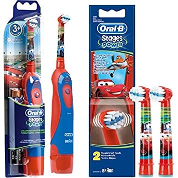 Set de ahorro: 1 Cepillo de dientes eléctrico Braun Oral-B Stages Power Kids