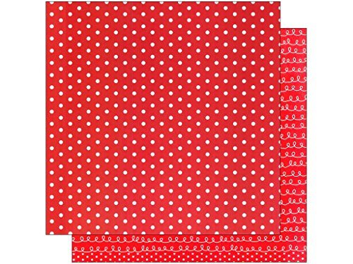 Polka Dot Cardstock - American Crafts AMC368283 12
