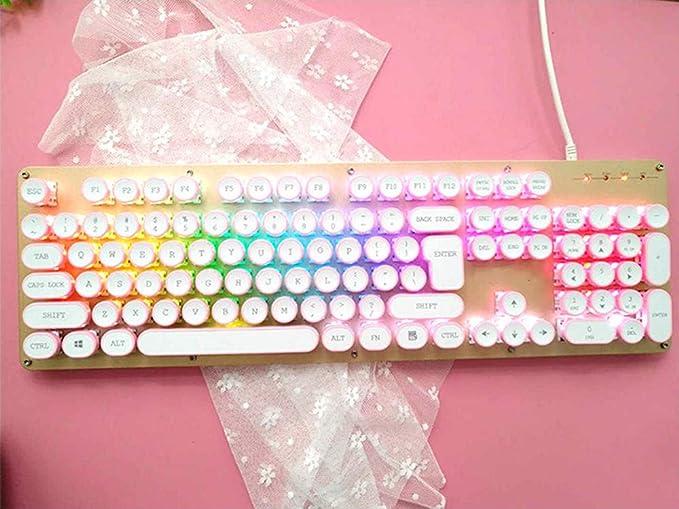 Teclado de juegos USB, diseño de botón de máquina de escribir ...