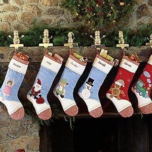 Amazon.com : Pottery Barn Kids Christmas Stocking Santa 2006 NEW ...