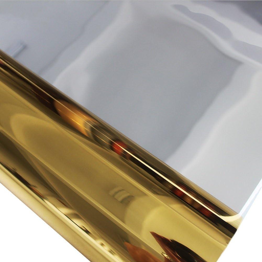 Couleur : Gold+Silver, Taille : 1m x 10m QiangDa Tapis Mariage Passage D/église Stade T Rouleau De Tapis De Miroir Utilisation Double Face Durable Th/ème Romantique /Épaisseur 0,12mm