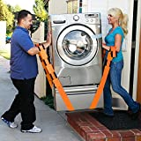 ViEr Lifting and Moving Straps, to easily carry furniture, appliances, mattresses, or any heavy object. Rated for items up to 800 lbs. 2 person moving system that encourages proper lifting techniques