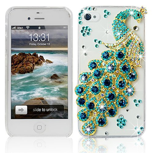 iphone 4s case bling crystal - 4