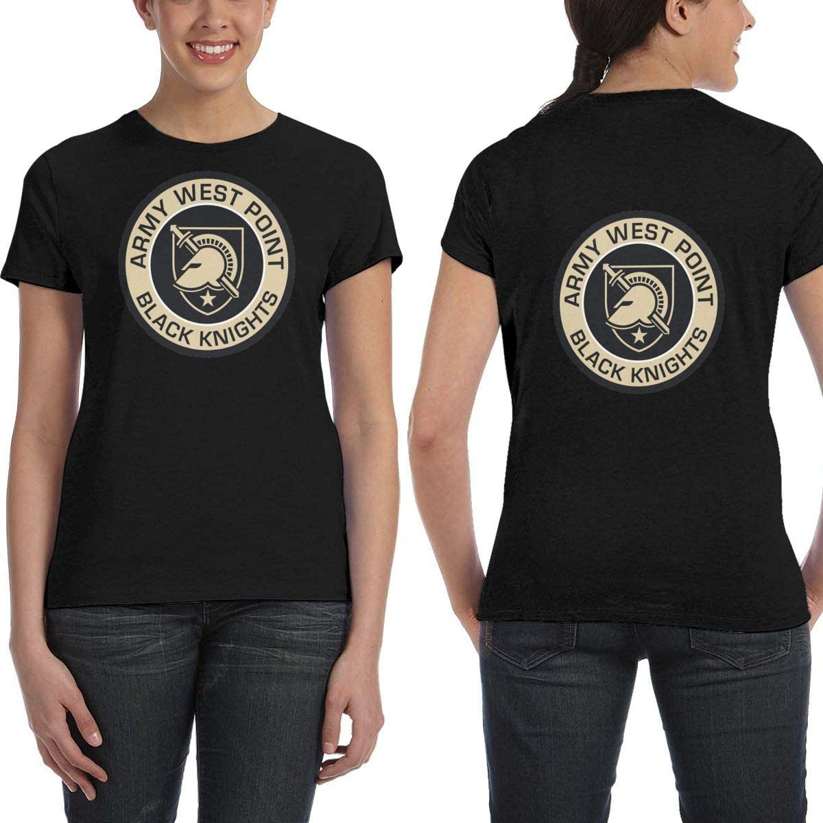 LNGCUNHAA West Point Military Academy West Point Academy Logo Womans Fashionable T Personalities Shirt