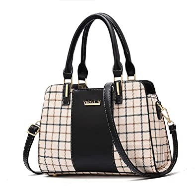 2a6daa2101f0 Chooray Women's Handbags Satchel Purses Tote Ladies Designer Shoulder Top  Handle Bags