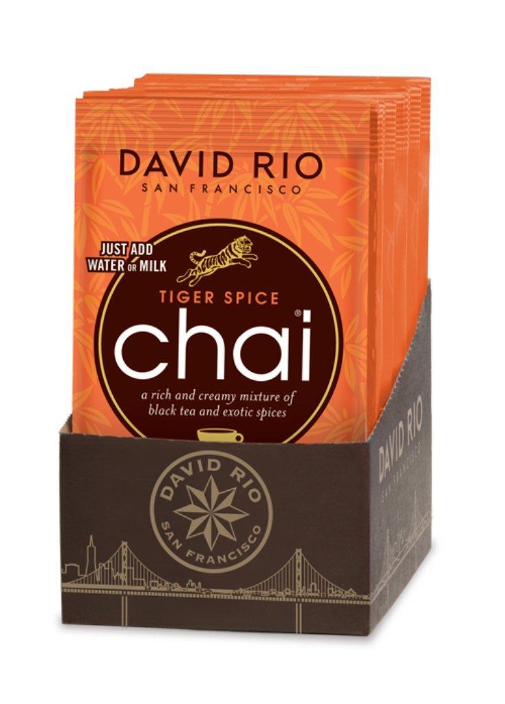 David Rio Chai Tea Single Serve Packets, Tiger Spice, 48 Count