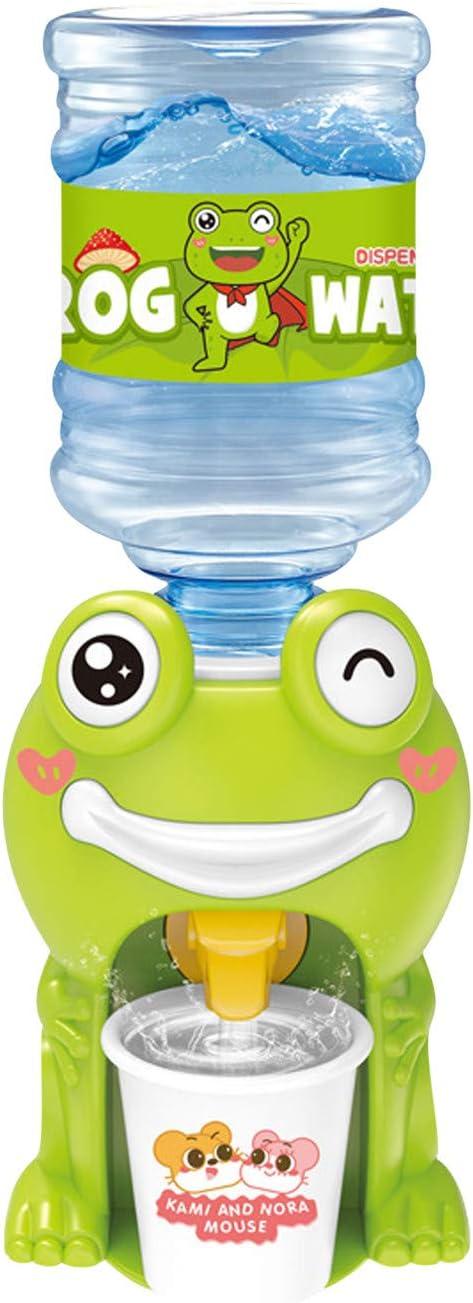 LIZENG Children's Simulation Drinking Fountain - Children's Educational Mini Water Dispenser, Mini Fun Drinking Fountains Simulation,Simulation Play House Beverage Dispenser Role Playing for Kids