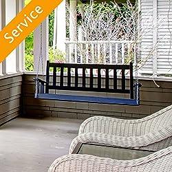 Porch Swing Installation