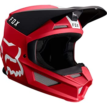 2019 Fox Racing V1 Mata Off-Road Motorcycle Helmet - Cardinal/Large