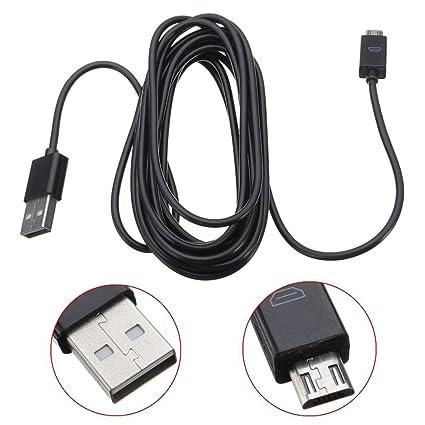 Amazon.com: liangxiang Color Negro USB Cable de carga ...