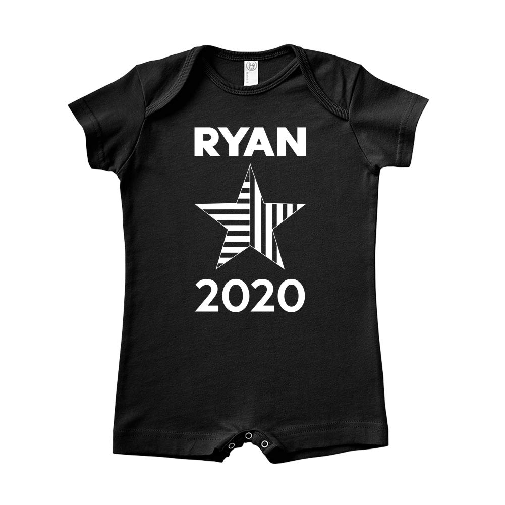 Star Mashed Clothing Ryan 2020 Presidential Election 2020 Baby Romper