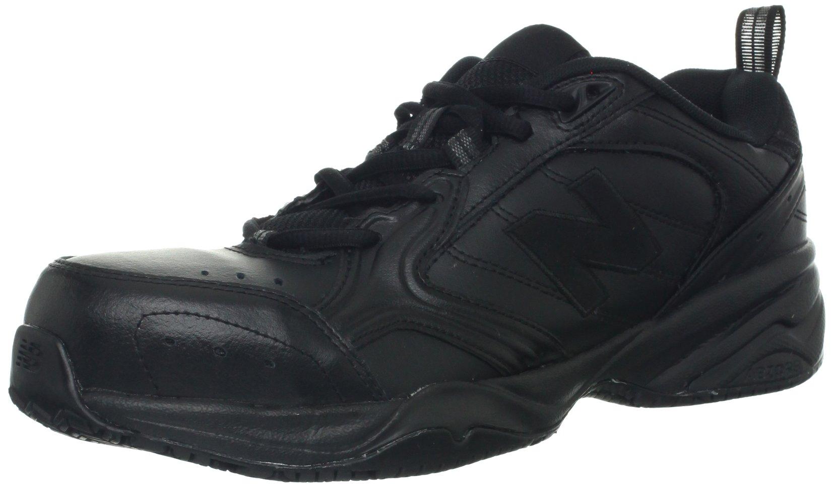 New Balance Men's MID627 Steel-Toe Work Shoe,Black,10 2E US by New Balance