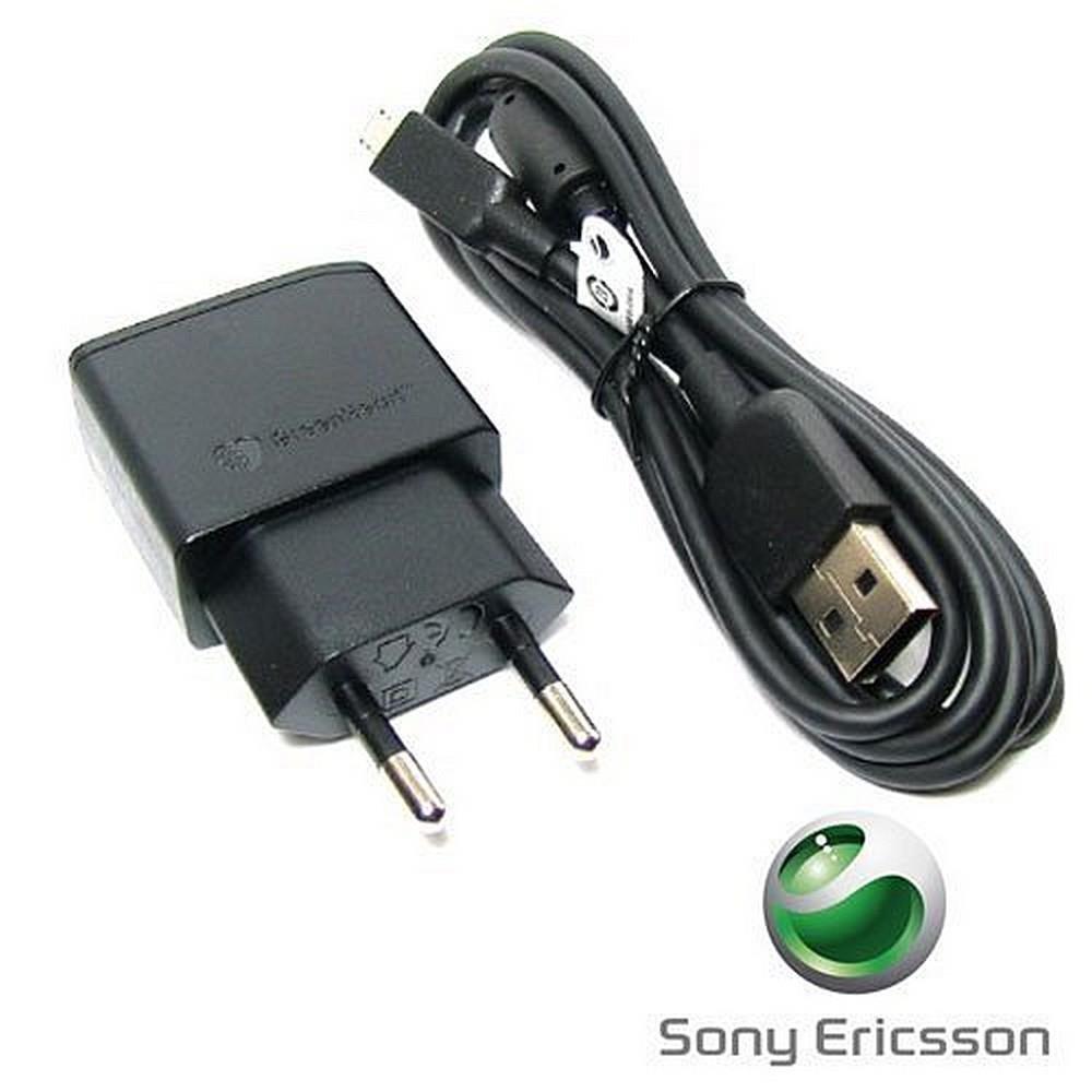 Cargador de viaje Sony Ericsson y adaptador USB EP- 800 2 piezas originales para Sony Ericsson Xperia X8